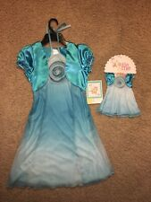 Girl's Dollie & Me Youngland Dress ~ Short Sleeve Size 7 & Matching Doll Dress
