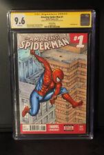 AMAZING SPIDER-MAN #1 9.6 SKETCH COVER Chris McJunkin CGC SIGNATURE SERIES SS