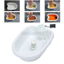 Ionic Ion Detox Foot Bath Spa Machine Single User With Tub Therapy Health New !