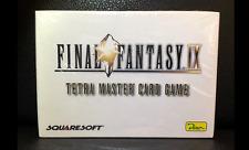 Final Fantasy IX Tetra Master Card Game NEU OVP Dino Squaresoft Zidane Vivi RAR
