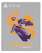 WipEout Omega Collection Steelbook PS4 [enthält kein Spiel | no game included]