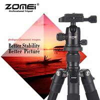 ZOMEI Q555 Pro Portable Aluminium Tripod&Ball Head Travel for Digital Camera DV