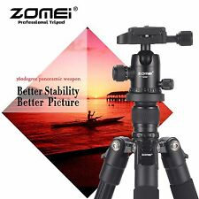 ZOMEI Q555 Portable Pro Aluminium Camera Tripod Ball Head for DSLR SLR Camera