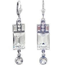 Artdeco Ohrringe Swarovski Kristalle Silber NOBEL schmuck