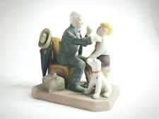 1984 The Country Doctor By Norman Rockwell Figurine