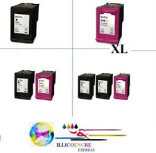 Compatible Ink Cartridges HP302 HP 302 XL Black/Colours To Unit By Lot