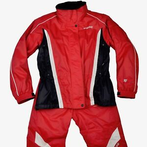 Spyder Stryke Skianzug Damen Gr 38 2 Teil + Fleece Rot Red Ski Suit Winter COOL