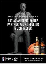 Jack Daniels NBA Jack Honey Poster 18 By 24