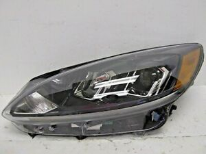 USED 2020-2021 FORD ESCAPE LH DRIVER SIDE HALOGEN LED HEAD LIGHT OEM