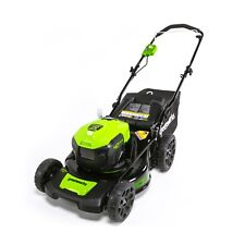 Greenworks 20-Inch 40V Brushed Dual Port Mower Battery Not Included Mo40L00