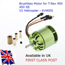 KV4000 OUTRUNNER Brushless Motor para TREX 450 RC helicóptero-disponible en Reino Unido