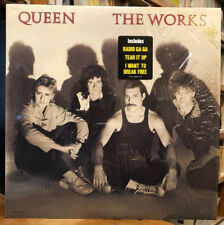 QUEEN The Works LP NEW RARE GOLD STAMP PROMO VINYL ST-12322
