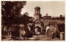 RPPC ENTRANCE TO THE CASTLE CAPE TOWN SOUTH AFRICA REAL PHOTO POSTCARD