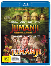Jumanji /Jumanji -Welcome To The Jungle Franchise PK (2018) (Blu-ray)(Region B)