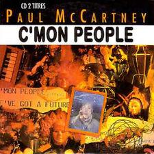 CD Single BEATLES - Paul McCARTNEY C'mon people CARD SLEEVE RARE FRANCE 2-TRACK