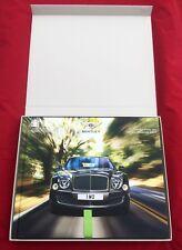 2015 Bentley Mulsanne Speed Boxed Hardcover Brochure Book Car Dealer England