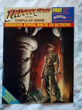 Indiana Jones & The Temple of Doom Smuckers Giveaway Official Poster Magazine