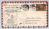Canada 1930 FFC Hamilton to Bradtford (Can-238c) - Z12872