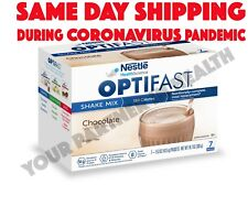NEW FORMULA OPTIFAST 800 POWDER SHAKE | CHOCOLATE | 1 CASE | 84 SERVINGS