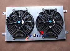 For Aluminum Radiator Shroud + Fan Holden HG HT HK HQ HJ HX HZ V8 Chev engine