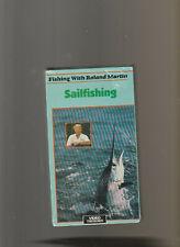 Sailfishing With Roland Martin (VHS, 1989)