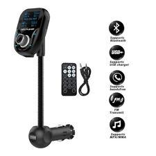 LCD Screen Bluetooth FM Transmitter Wireless In-Car Radio Adapter Car Kit