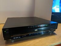JVC XV-FA900 7 Disc DVD Changer VCD Dolby Digital Surround Progressive Scan