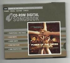 Power of the Cross Live at Free Chapel CD-Rom Digital Songbook sheet music,MORE