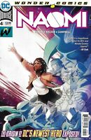 Naomi Comic Issue 4 Cover A First Print 2019 Brian Michael Bendis Walker DC