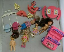 Kelly Doll Barbies Friend and  Clones Mattel Kid Core playground swing lot