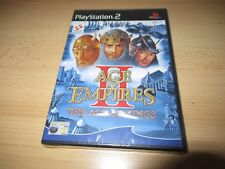Age of Empires II (2) The Age of Kings - PlayStation 2 PS2 - New & Sealed pal
