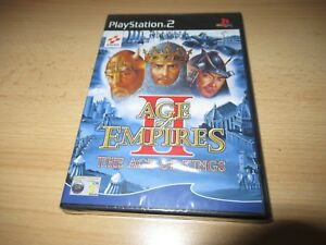 Age of Empires II (2) The Kings - PlayStation 2 PS2 - New & Sealed pal