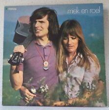 MIEK EN ROEL - s/t - ZELDZAME LP 1970 Vogue / folk - kleinkunst BELGIE