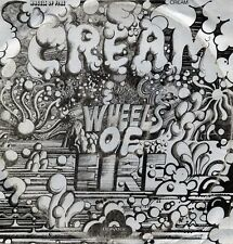 "CREAM ""WHEELS OF FIRE"" ORIG FR 1968 VG/VG+ 2 LPs 1st PRESS w/ UK CV"