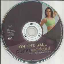 Disc Only: On the Ball - Pilates Workout for Beginners (DVD, 2003) Free Shipping