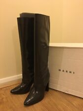Marni Woman's Boots Size 37.5 Dark Brown Worn Only Few Hours RRP£410