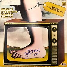 JOHN CLEESE AUTOGRAPHED SIGNED MONTY PYTHONS FLYING CIRCUS BAS COA RECORD ALBUM