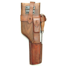 Mauser C96 Wood Shoulder Holster With Leather
