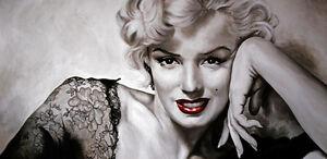 QUADRI-pop art -marilyn- quadro-olio su tela - prodotto italiano-pintura-malarei