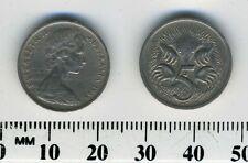 Australia 1969 - 5 Cents Copper-Nickel Coin - Queen Elizabeth II - Echidna