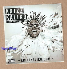 KRIZZ KALIKO Shock Treatment Car Case Board Sticker