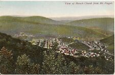 View of Mauch Chunk From Mt. Pisgah Mauch Chunk Pa Postcard