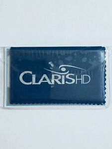 Claris HD Eyeglass Cleaning Cloths Microfiber Polishing Wipes For Sunglasses