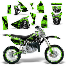 Graphic Kit Honda CR 80 MX Dirt Pit Bike Decals Sticker Wrap CR80 96-02 REAP GRN