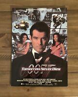 MGM 007 James Bond Tomorrow Never Dies Promo Display Board Mini Poster