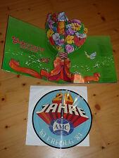 AMC feiert 20 Jahre Jubiläum PICTURE LP DSIC Gimmick Klappcover Töpfe Geschirr