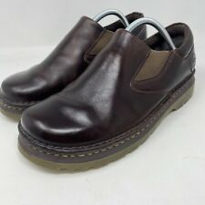 Dr Doc Martens Orson Mens Brown Leather Casual Slip On Loafers Shoes Size 9 M