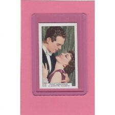 New listing Fred MacMurray/Claudette Colbert 1935 Gallaher Film Partners Card #2 Free Ship