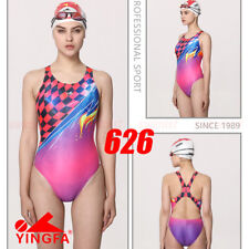 NWT YINGFA 626 COMPETITION TRAINING RACING SWIMWEAR SWIMSUIT L US MISS 4-6 Sz 30