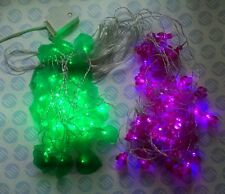Christmas LED curtain light 3 meter wide with 20x 90cm